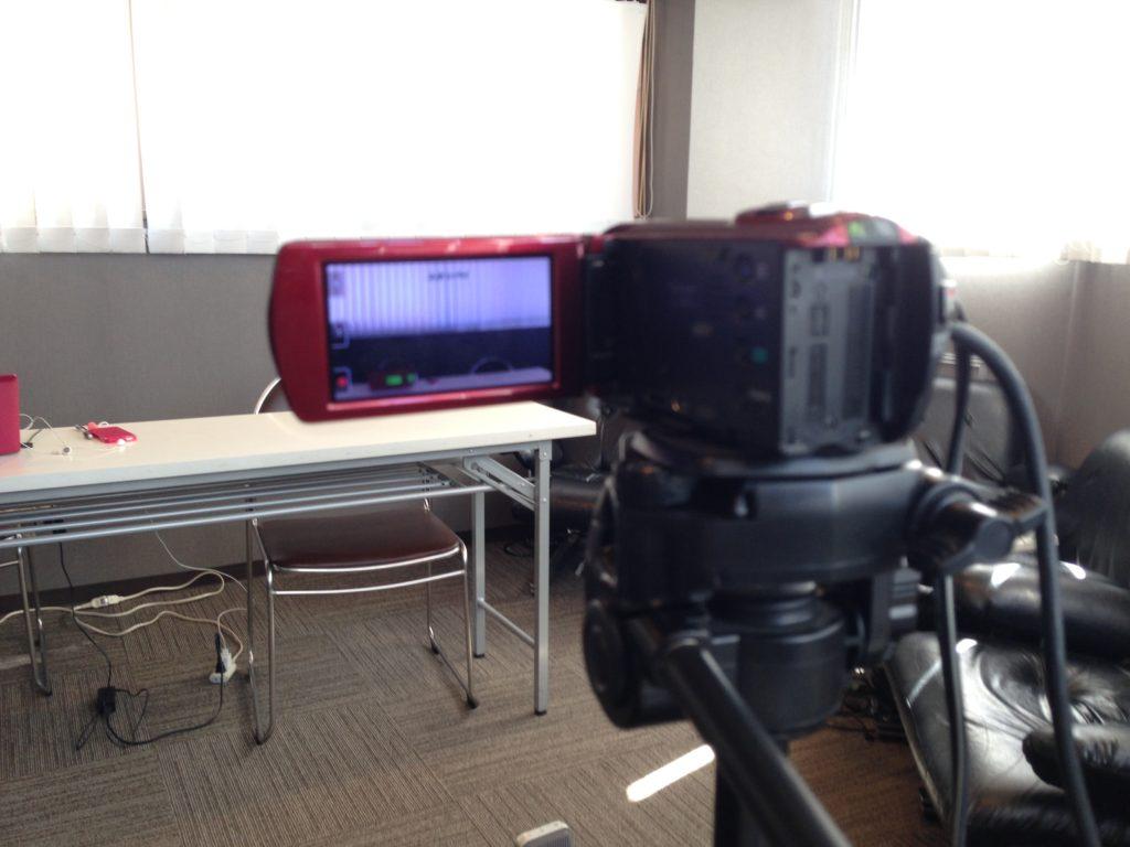 タスクールが映像スタジオになるとは・・・