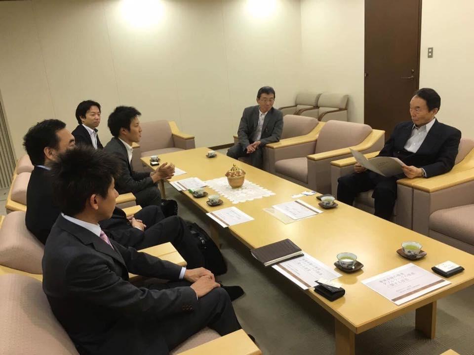 中小企業庁、中小機構訪問