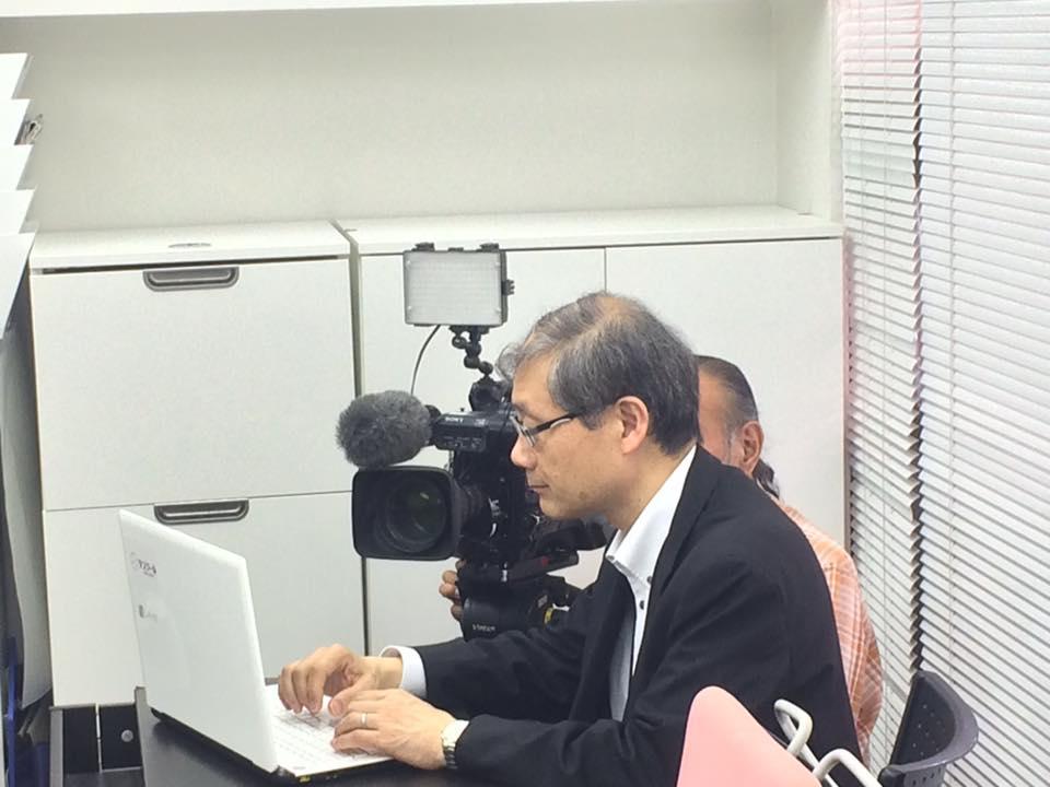 【テレビ取材】NHKほっとイブニングでタスクール放映です
